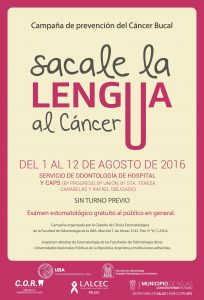 SCALE LA LENGUA AL CANCER